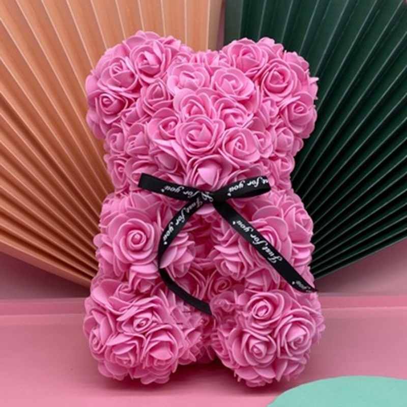 RoseBear 40cm