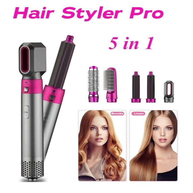Escova para pentear Hair Styler Pro ™ 5 em 1