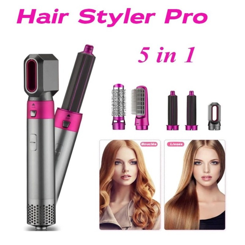 Spazzola per lo styling 5 in 1 Hair Styler Pro ™